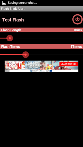 Flash Blink Alert