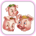 Three Little Pigs Jigsaw icon
