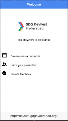 GDG Hyderabad DevFest 2014