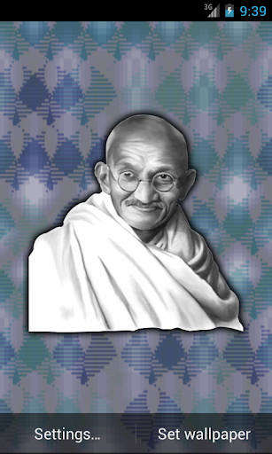 Mahatma Gandhi Live Wallpaper