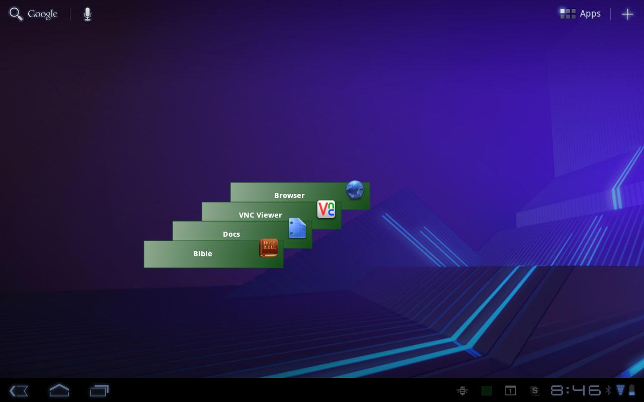 App Stack - screenshot