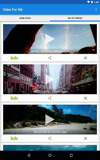 Video For Kik  screenshots 11