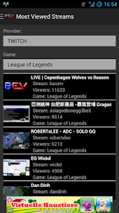 BEV Stream App ( Twitch ) - screenshot thumbnail