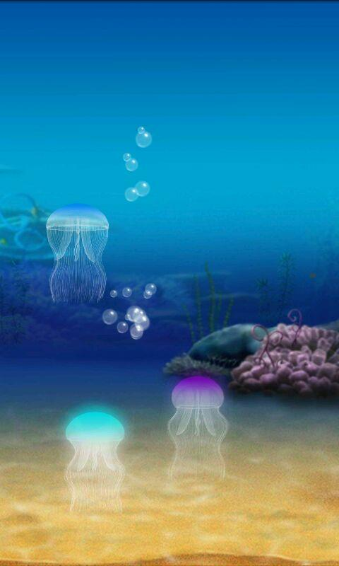jellyfish live wallpaper free android apps on google play
