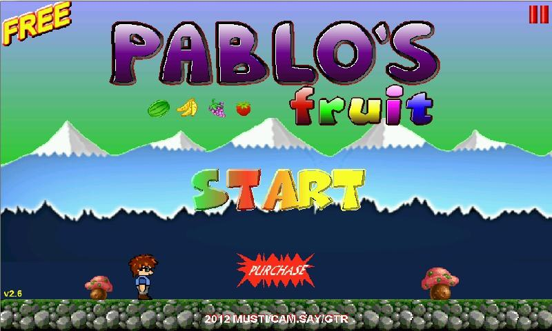 Pablo's Fruit Free - screenshot