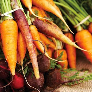 Salt-Baked Carrots & Beets