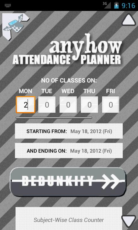 Anyhow Attendance Planner - Android Apps On Google Play