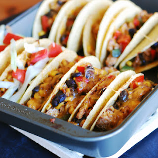 Oven Baked Chicken Tacos – Our Newest Family Favorite.