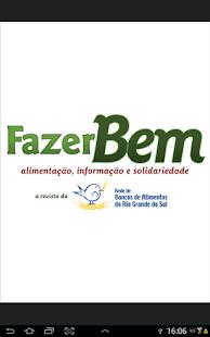 Revista Fazer Bem- screenshot thumbnail