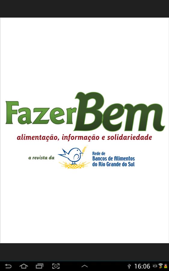 Revista Fazer Bem- screenshot
