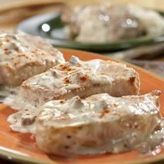 Creamy Ranch Pork Chops and Rice.