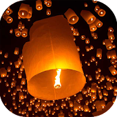 Sky Lanterns Live Wallpaper