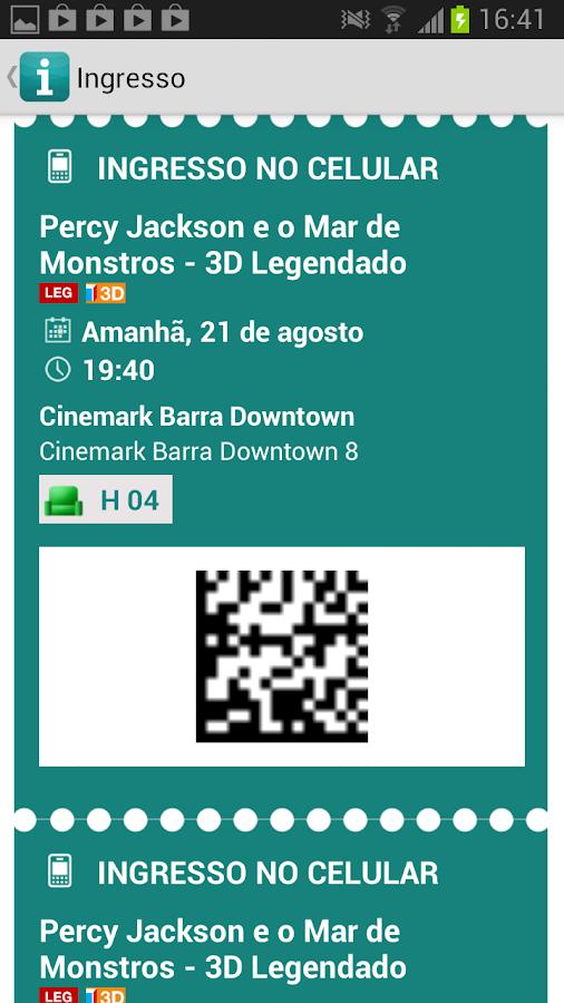 Ingresso.com - screenshot