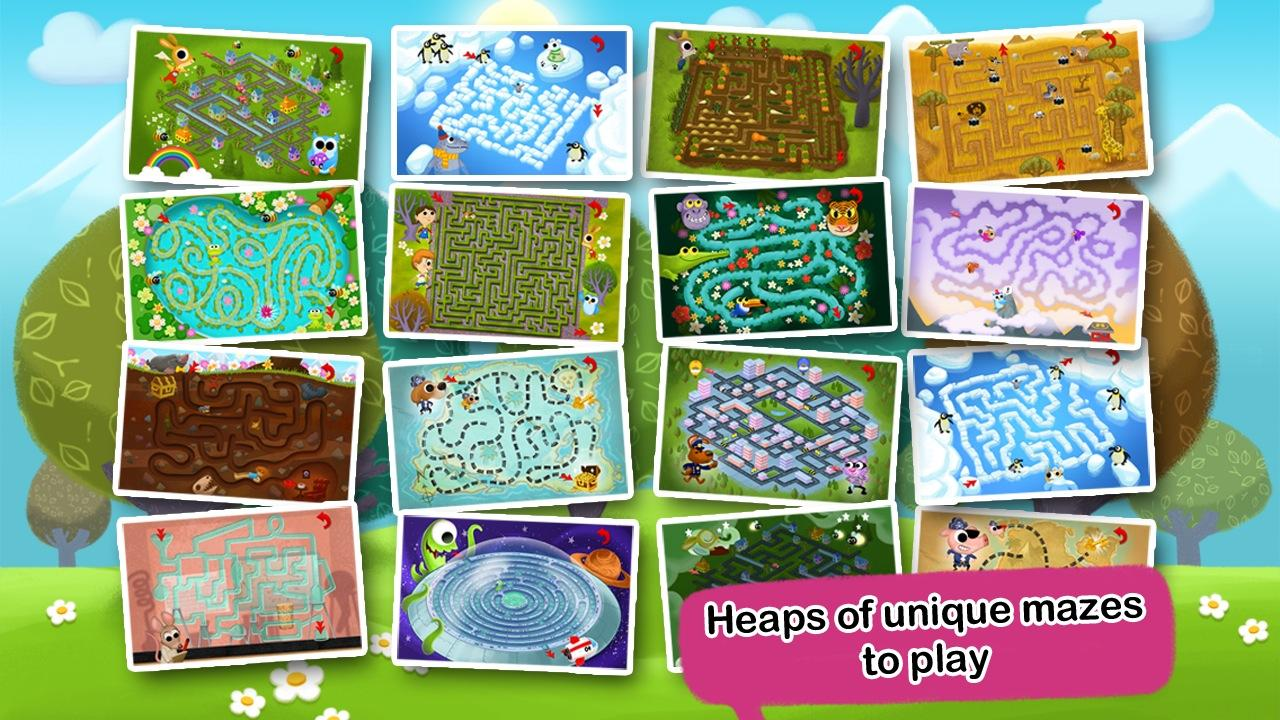Preschool Maze for Kids HD - screenshot