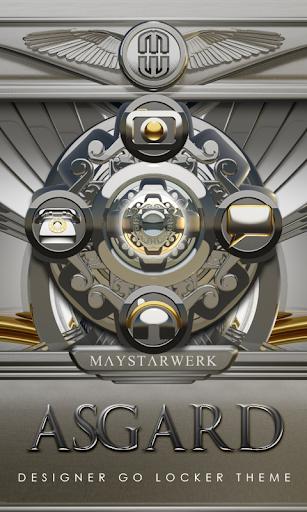 【免費個人化App】GO Locker theme Asgard-APP點子