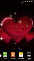 Screenshot of I Love You Live Wallpaper