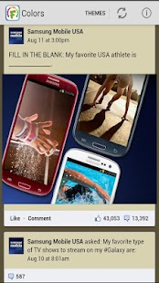 Color Themes for Facebook FREE - screenshot thumbnail