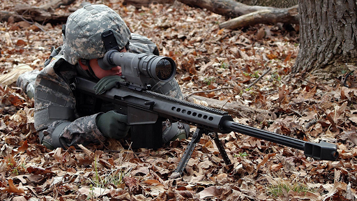 Sniper Zone Puzzle Game
