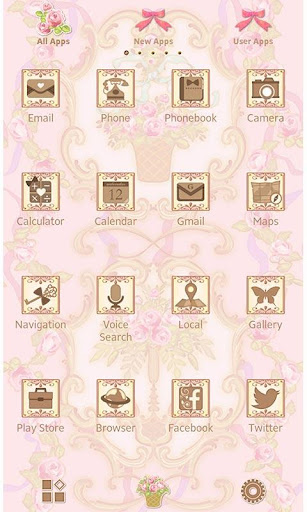 Classic Wallpaper Rococo Rose 1.0.0 Windows u7528 2