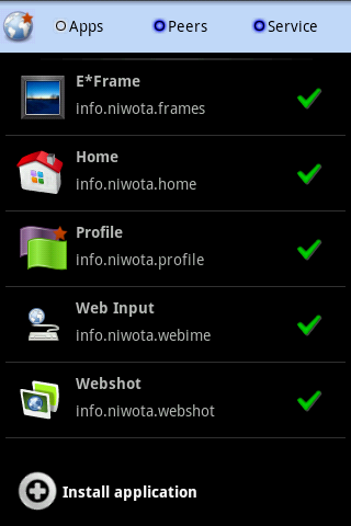 Hotweb (beta) - screenshot