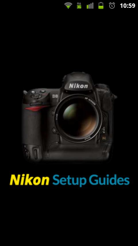 Nikon Setup Guides - screenshot