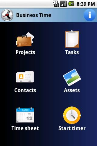 Business Time PRO - 50% SALE! - screenshot