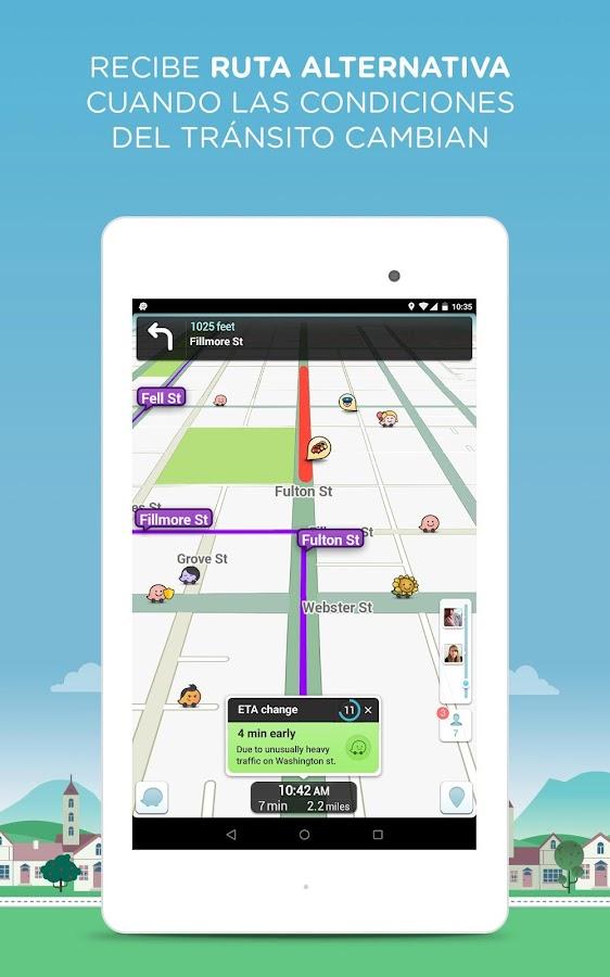Waze Social GPS Maps & Traffic: captura de pantalla