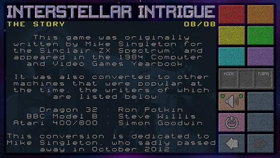 Interstellar Intrigue screenshot