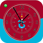 Trabzonspor Analog Clock