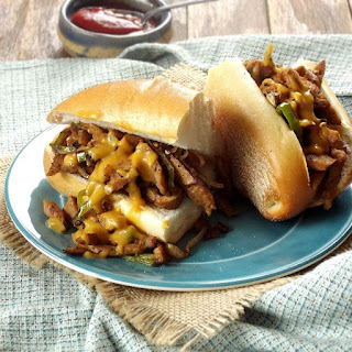 Vegan Cheese Steak Sandwich