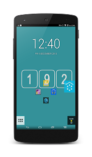 192 Square Lite Theme - screenshot thumbnail