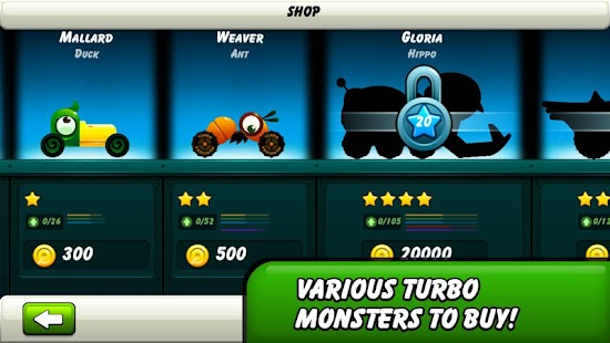Monsters Climb Race: hill race- screenshot thumbnail