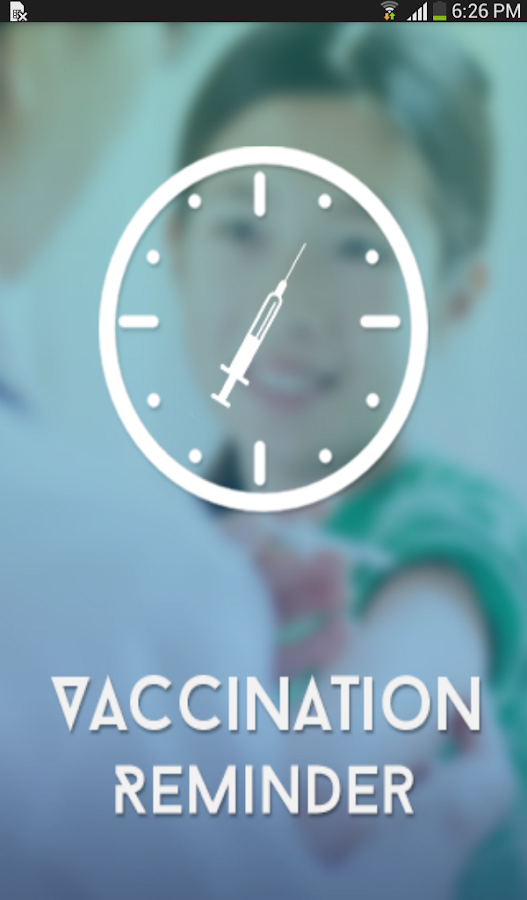 Vaccination Reminder - screenshot
