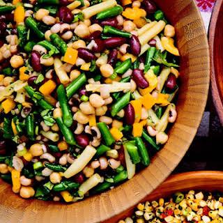 Five Bean Picnic Salad.