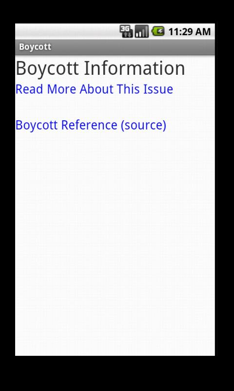 Boycott- screenshot