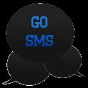 GO SMS - Intense Blue icon
