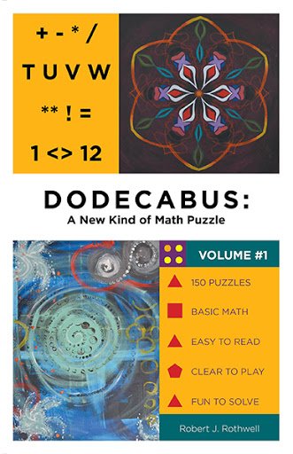 Dodecabus:   A New Kind of Math Puzzle cover