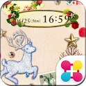 森のクリスマス 無料壁紙きせかえ icon