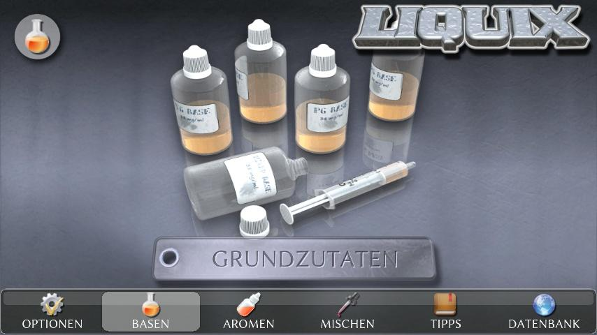 android LIQUIX Liquidrechner & Manager Screenshot 17