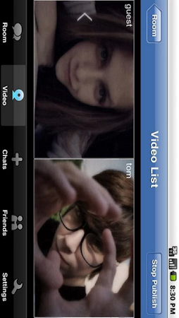 Video Chat Rooms - Look2cam 1.1.1 screenshot 639589