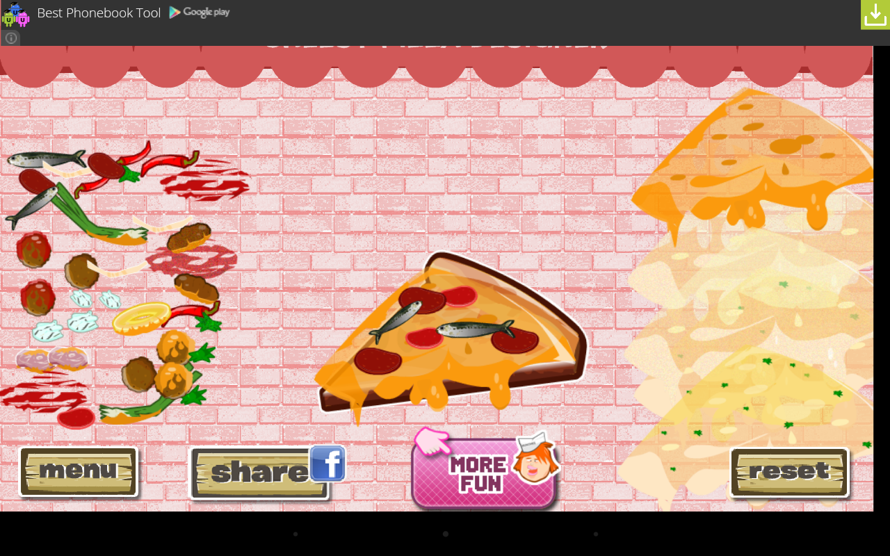 Cheesy Pizza Designer - screenshot