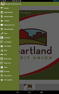 Heartland Credit Union App - screenshot thumbnail