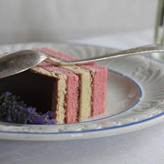 Striped Cake.