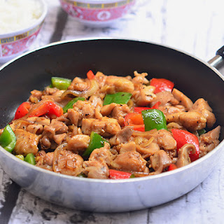 Chinese Black Pepper Chicken Recipes.