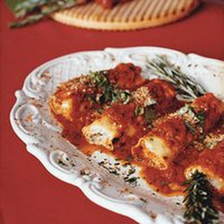 Ricotta and Meat Cannelloni.