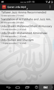 Quran Urdu Audio screenshot 4