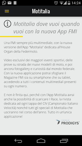 Motitalia - app ufficiale FMI