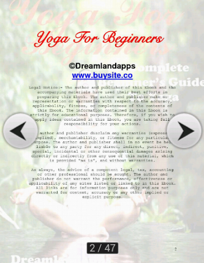 生活必備APP下載 Yoga For Beginners 好玩app不花錢 綠色工廠好玩App
