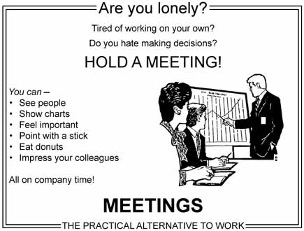 hilarious pics: lonely hold meeting