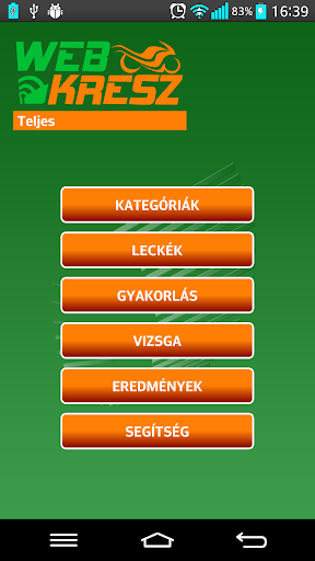 WebKresz Motorosoknak LITE